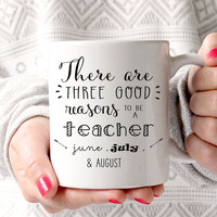 Teacher Coffee Mug, Gift for Teacher