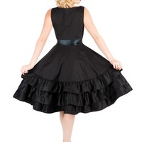 """Women's """"Thrice As Nice"""" Dress by Hearts & Roses (Black)"""