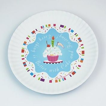 Fun Birthday Melamine Plates ~ Better with Cake and Frosting!