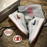 CLOT X Nike Air Force 1 Low Fuse Sport Fashion Shoes