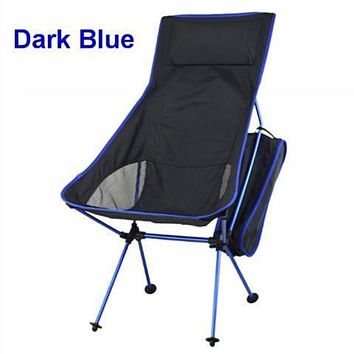 Portable Ultralight Collapsible Leisure Camping Chair with Bag