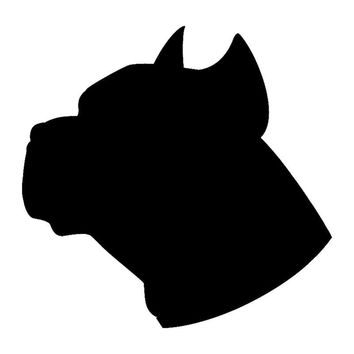 Pitbull Silhouette Vinyl Decal