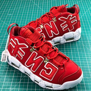 Nike Air More Uptempo Chinese New Year Cny Sport Basketball Shoes - Best Online Sale