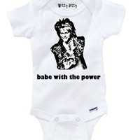 LABYRINTH - DAVID BOWIE - The babe with the power - Jareth the Goblin King - Any Size Infant or Toddler Onesuit or Tshirt