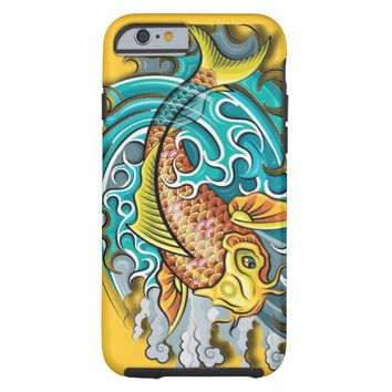 Koi Fish Art Tough iPhone 6 Case