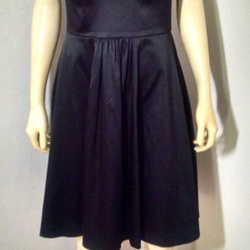 White House Black Market Cocktail Dress Size 6 Knee Length Sleeveless P1224