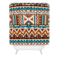 Kris Tate Cactus 1 Shower Curtain