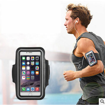 Fashion Washable Jog Sports Arm Band Gym Running Jogging Case Arm For iPhone 6 6S 7 Plus 5 5S SE 5C Workout Cycling Phone Case