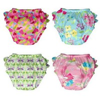 i play.® Classics Ultimate Ruffle Swim Diaper