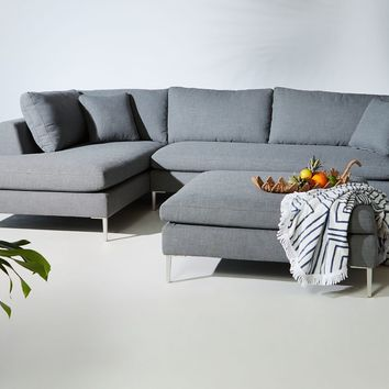 Edlyn Indoor/Outdoor Two-Piece Chaise Sectional