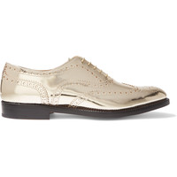Church's - The Burwood metallic leather brogues