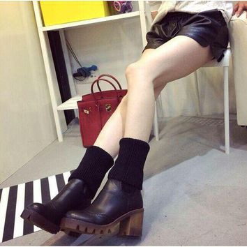 PEAPIX3 Hot Deal On Sale Winter Shoes High Heel Dr. Martens Boots [11791900047]