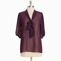 charlene finesse necktie blouse - $34.99 : ShopRuche.com, Vintage Inspired Clothing, Affordable Clothes, Eco friendly Fashion