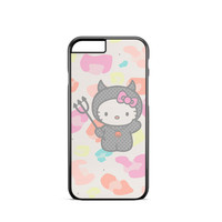 Cute Devil Hello Kitty iPhone 6s Case