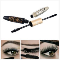 Leopard Long Curling Eyelash Extension Black Fiber Mascara Double Eye Lashes Makeup = 1705632132