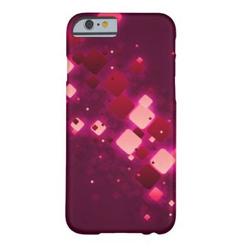 Pretty Amethyst Violet glitter pattern purle Barely There iPhone 6 Case