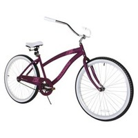 "26"" Magna Ladies Rip Curl Cruiser - Purple/White"