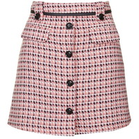 Button Front Pelmet Skirt - Skirts - Clothing