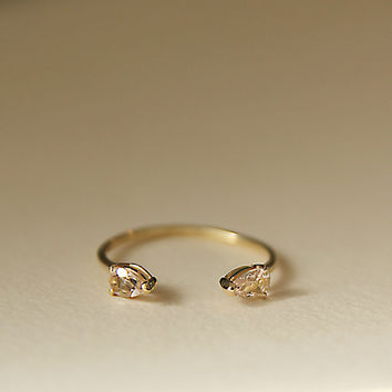 Brooke Morganite Ring