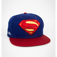 New Era Superman Movie Snapback Hat
