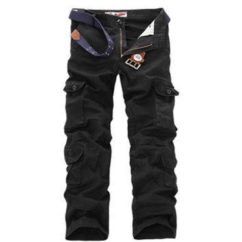 Men's Cargo Pants Warm Sports Baggy Pants Cotton Trousers For Men Camouflage Military Tactical Overalls Hombre SM6