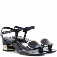 Chips West Buckle leather sandals