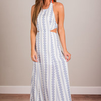 Depiction of Perfection Maxi Dress, White