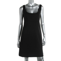 Marc Jacobs Womens Wool Sleeveless Cocktail Dress