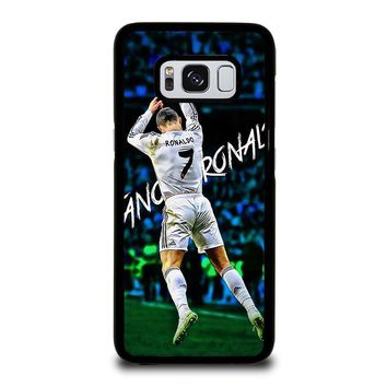 REAL MADRID RONALDO CR7 CELEBRATION Samsung Galaxy S3 S4 S5 S6 S7 S8 Edge Plus Note 3 4 5 8 Case