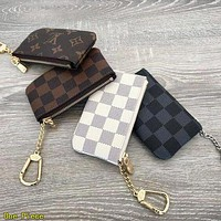Louis Vuitton LV Lovely Key Pouch Clutch Bag Coin Purse Small Wallet