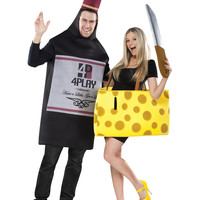Wine and Cheese Couples Costume – Spirit Halloween