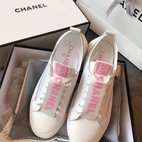 shosouvenir CHANEL Fashion and leisure sports shoes