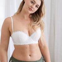 Summer Strapless Pushup Bra, Soft Muslin