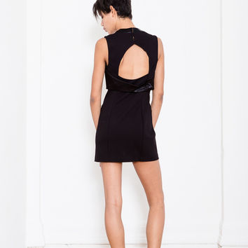 Alexander Wang Black Tuxedo Dress