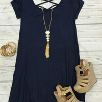 Endless Style Dress SS: Navy