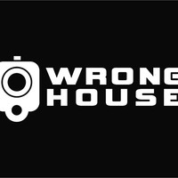 Wrong House Gun Barrel Warning Die Cut Vinyl Decal Sticker