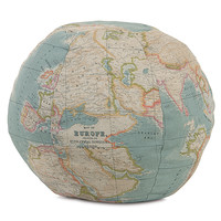 Eastern Accents Kai Monde Ocean Globe Decorative Pillow