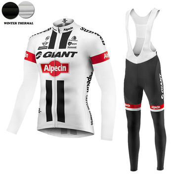 2016 Cycling jersey winter cycling clothing thermal fleece mtb sport ropa ciclismo hombre invierno bike clothes men wear