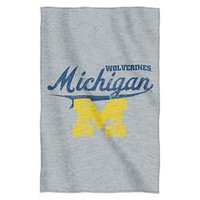 Michigan Wolverines NCAA Sweatshirt Throw