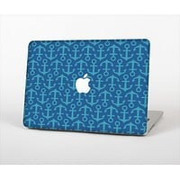 "The Blue Anchor Collage V2 Skin Set for the Apple MacBook Pro 13"" with Retina Display"