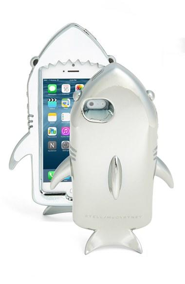 info for 22e3d 6d633 Stella McCartney Metallic Shark iPhone 6 Case