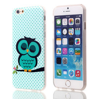 Blue Owl StyleSoft TPU Case For Apple iPhone 6 6S (mint)