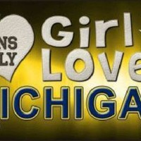 This Girl Loves Michigan  Fans License Plate Tag