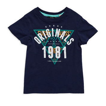 Guess Boys 8-20 Graphic Crewneck Cotton Tee