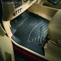 WeatherTech Custom Fit Front FloorLiner for Select Jeep Wrangler Models (Black)