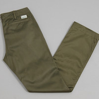 burgus plus - lot401 modern chinos olive