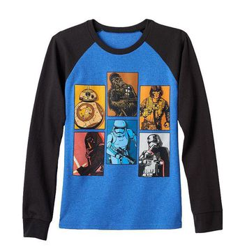 DCCKX8J Star Wars: Episode VII The Force Awakens Boxed Battalion Tee - Boys 8-20 Size