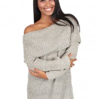 Peace Of Mind Sweater in Taupe | Monday Dress Boutique