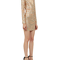 Balmain - Embellished V-Neck Dress - Saks Fifth Avenue Mobile