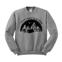 I Don't Want To Go Home Crewneck Sweatshirt